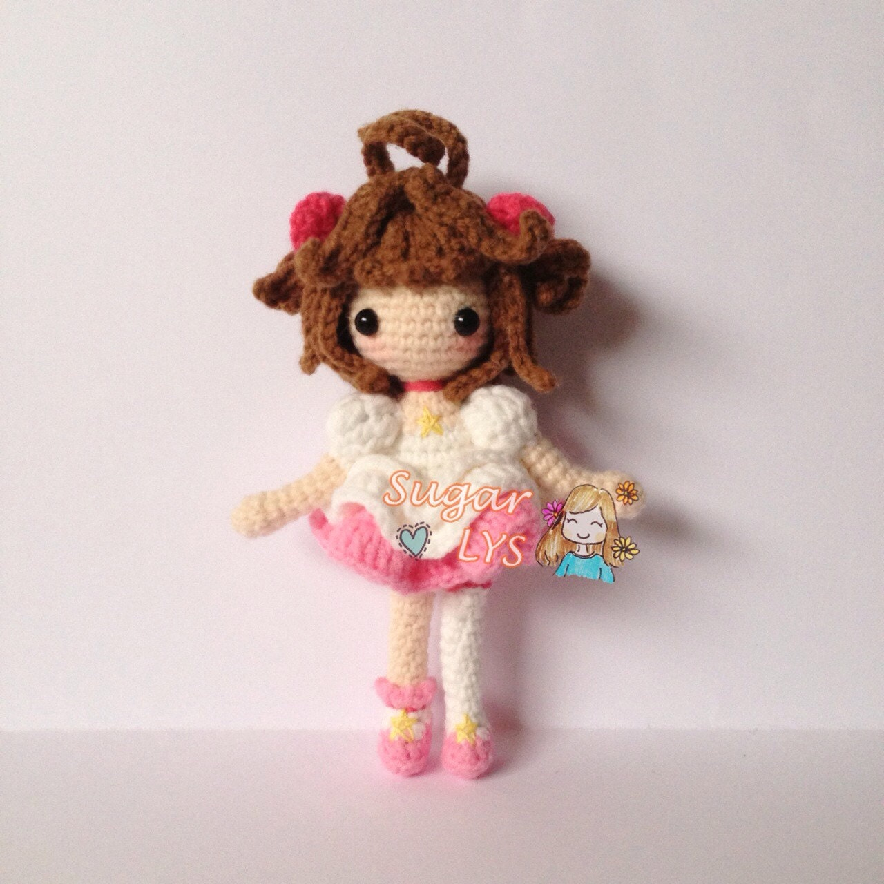 Amigurumi Doll Hair Bun : Crochet Amigurumi Cardcaptor Sakura