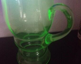Large-Vintage-Vaseline-Uranium-Glass-Jug