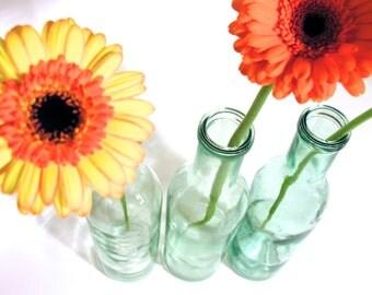 French Glass Vase-Home Made Brandied Cherry Bottle-1930-Retro Tableware-Modern Design-Industrial Interior Design-Collectible