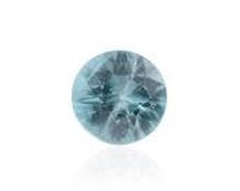 Blue Zircon Loose Gemstone Round Cut 1A Quality, 5mm TGW 0.55 cts.
