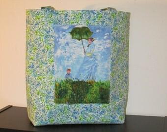 Large Monet Tote Bag