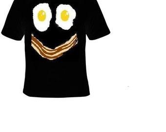 T shirts: bacon n eggs funny shirt egg t shirts