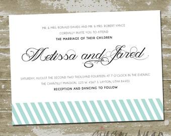 Melissa Wedding Invitation