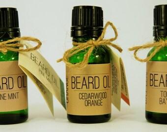Beard Oil Featuring Meadowfoam Seed, Cranberry Seed, Camellia Seed, and Jojoba Oil