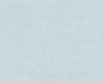 ORGANIC Light Blue Fabric by Monaluna Organic Fabrics 3025