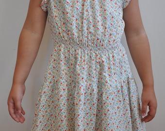 Vintage 70's GIrls size 3/4 dress