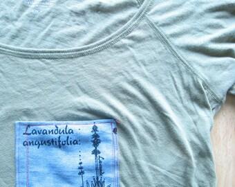 Lavender Silkscreen T-shirt