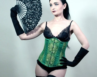 Jade Corset // Fashion Portrait // 8x10 signed photo print // Self Portrait Photography