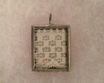 Vintage Lace Pendant
