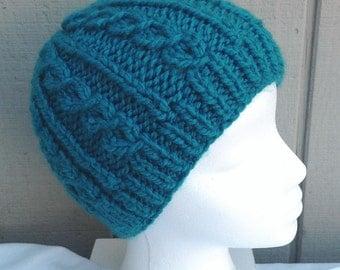 Girls beanie - Girls accessories - Chunky beanie - Girls knit beanie - Girls hat
