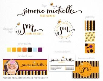 Custom Logo Design Branding, Branding package, Custom Business Logo Design, Custom Logo Illustration, Logo Design, Custom Logo, Bee Logo