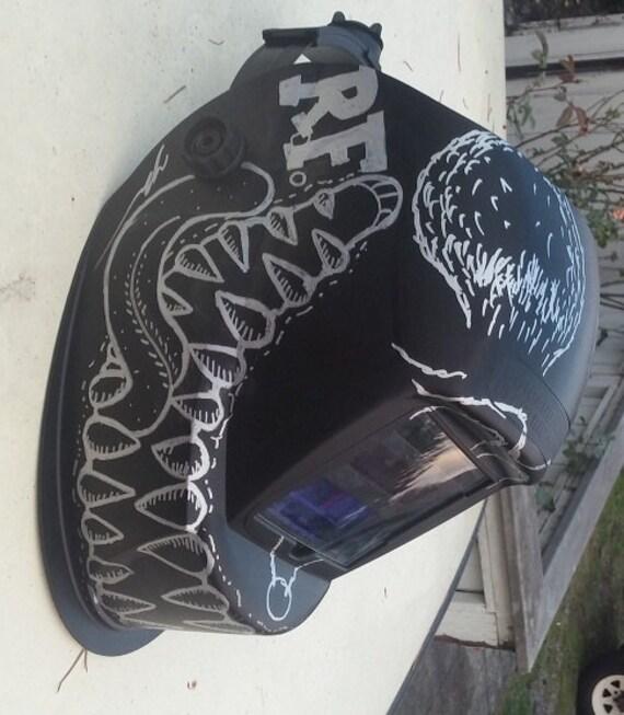 Rat Fink Hot Rod Welding Helmet