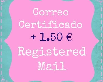Registered Mail Shipping