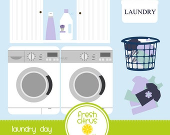 Laundry clip art washing machine dryer