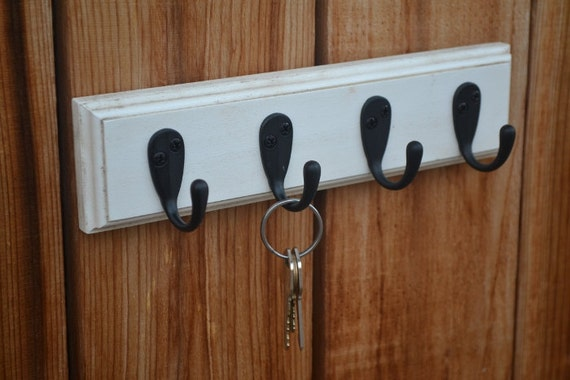 Items Similar To Wooden Hanging Wall Mounted Key Chain