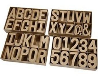 Paper Mache Letters 20cm