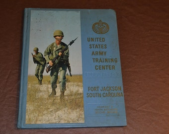 Ft Jackson SC Boot Camp year book