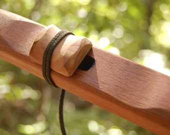 Native American Inspired red cedar flute, woodland style in A minor pentatonic scale. Easy playing, warm sounding instrument.