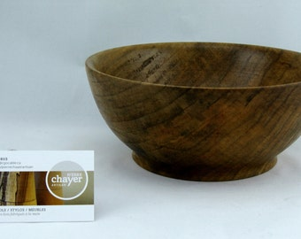 Fruit bowl or service made from Ambrosia Maple apprx. 10 in. x 3 in. item number:EA0914.1003.26.B