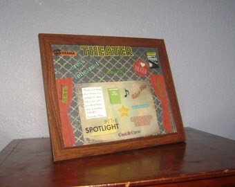 CLEARANCE Theater Scrapbooking Picture Frame