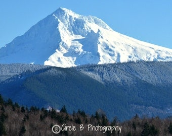 Gorgeous Mt. Hood, New Year's Eve 2014