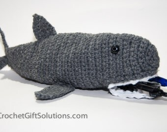 School Pencil Case, Zipper Pencil Case, Pencil Case, Shark Pencil Case,  Gift for Boy, Gift for Girl, Gift for Tween