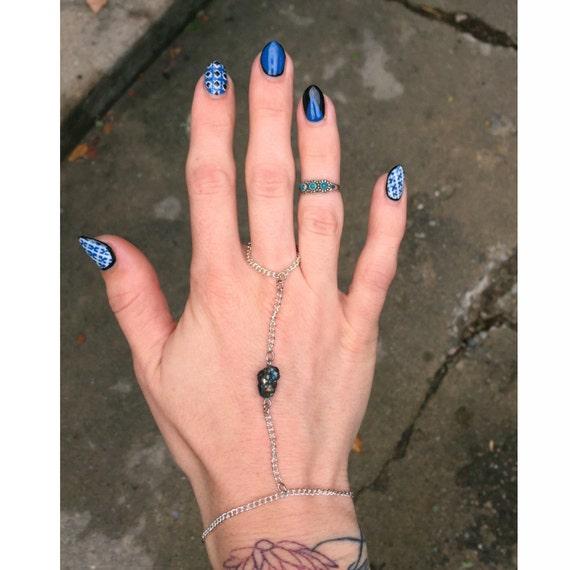Rainbow Titanium Hand Chain