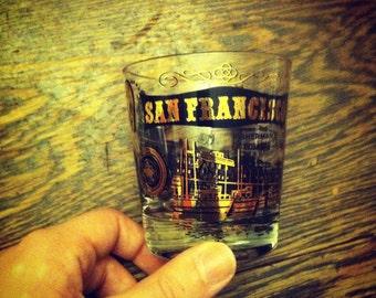 Vintage San Fransisco Glass