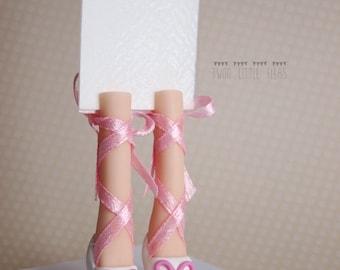 feet bookmark, foot bookmark, ballerina shoes bookmark, funny bookmark