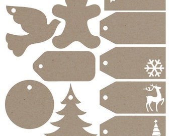 Gift Tags svg file