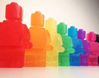 1 x  Robot Man Fragranced Soap - Boys Girls Christmas Stocking Filler