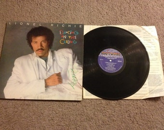 Lionel Ritchie : Dancing on the Ceiling  LP Record