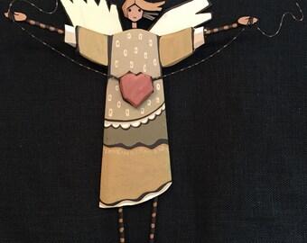 Carved Angel