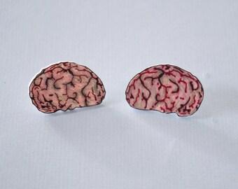 Zombie Brain Earrings!