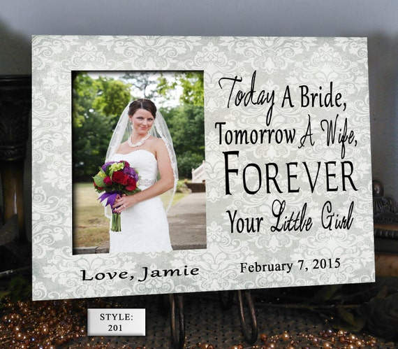 Memorable Wedding Gifts For Parents : TOD/BR Parents wedding gift, Parents of the bride, Father of the bride ...