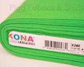 KONA Cotton in Kiwi (Color 1188)