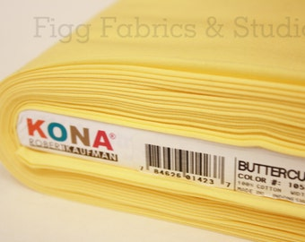 KONA Cotton in Buttercup (Color 1056)