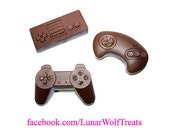 Chocolate Video Game Controller (Set of 3)
