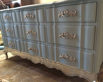 French Provincial Dresser, Nursery, Changing table, custom furniture