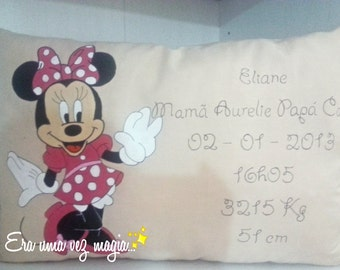 Minnie Baby Birth Pillow * Baby's Room * Nursery & Home Decoration