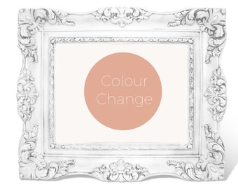 Colour or size Change