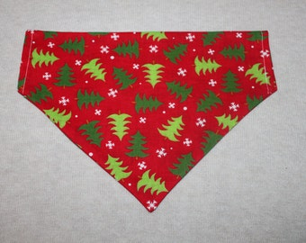 Christmas Tree Dog Bandanna in Small, Medium & Large