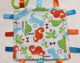 Dinosaur Sensory Blanket