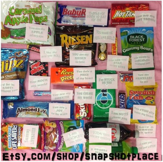 Items Similar To Candy Love Love Sayings That Match