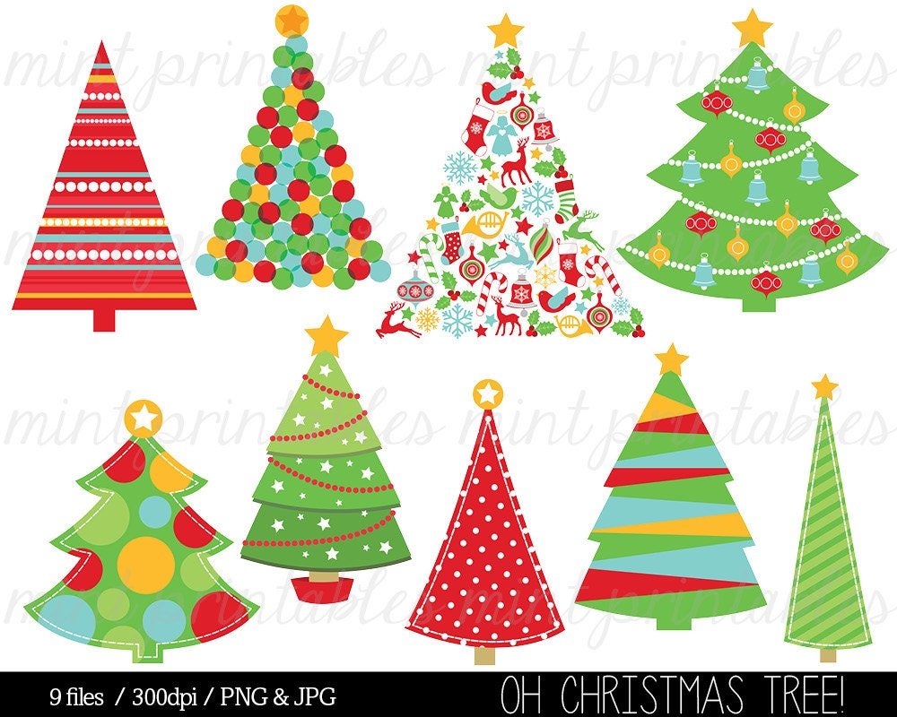 Christmas Clipart Christmas Tree Clip Art Christmas Trees