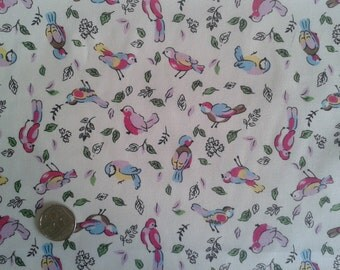 Little Bird Cotton Fabric