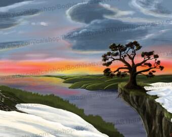 Digital Painting By Tyler Walker