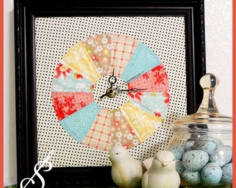 Tick Tock: A Quilted Clock Pattern
