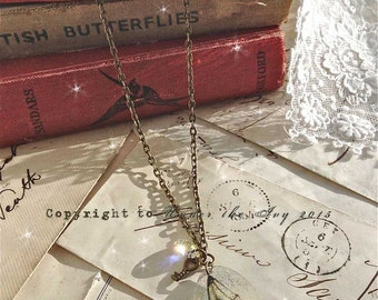 A beautiful faerie wing pendant