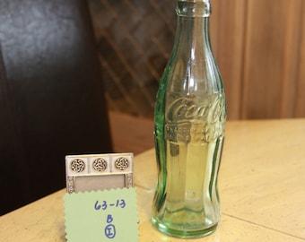 1963 Coke Bottle.   Vintage Coca Cola Bottle.  Great condition.